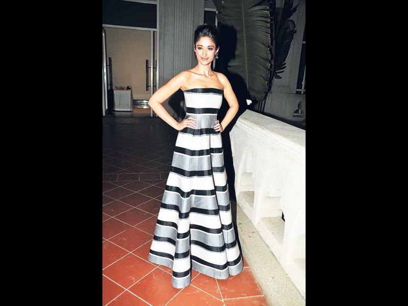 Ileana D'Cruz strikes a pose.