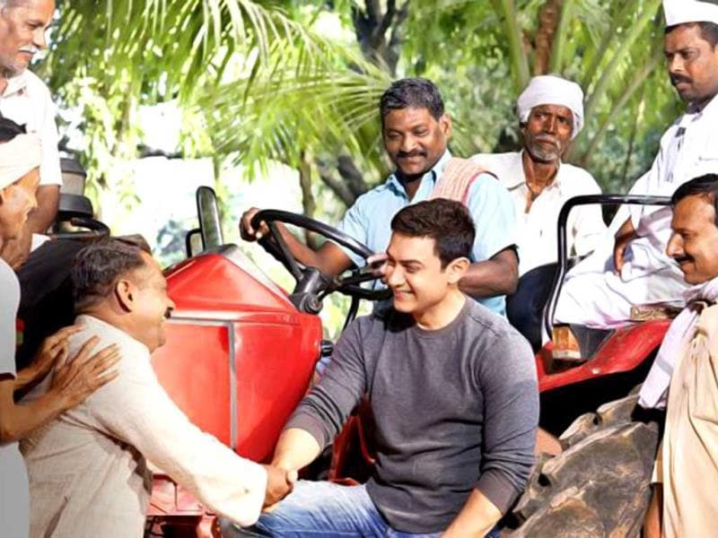 Farmers are the backbone of our nation! Do we appreciate the efforts of the Indian farmer? Aamir Khan ponders.