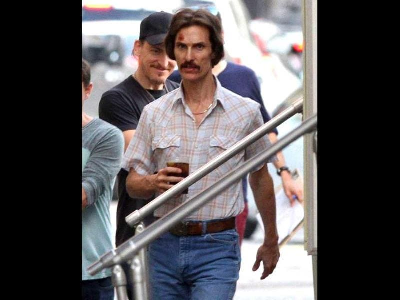 Matthew McConaughey won the Oscar for the best actor for his role in Dallas Buyers Club.