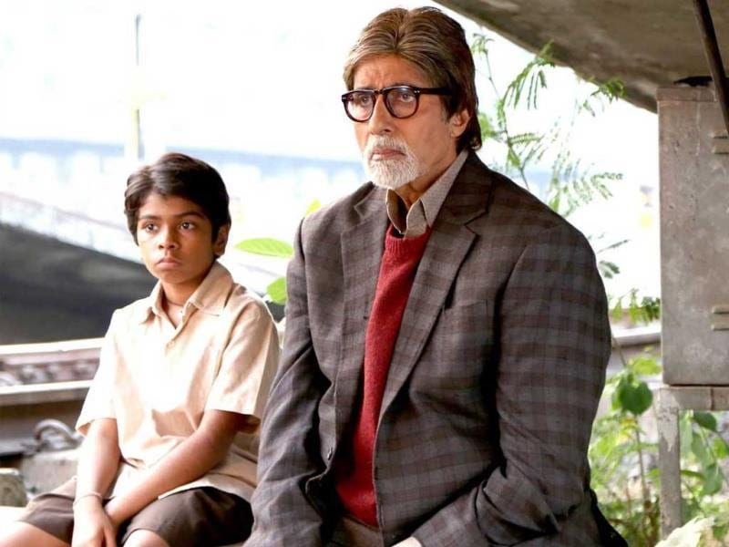 Parth Bhalerao plays the kid who's not scared of Bhoothnath Amitabh.