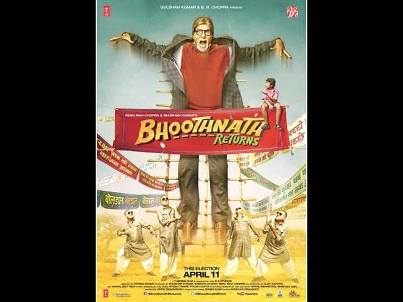 Our noble ghost Bhoothnath tries his best to scare kids. But gets scared by the kids instead. Tch Tch!