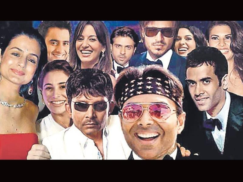 This selfie-like photo has been digitally created by the satire website, The Unreal Times. It features Bollywood's 'not so successful' actors such as actors Uday Chopra, Ameesha Patel and Tusshar Kapoor, among others.