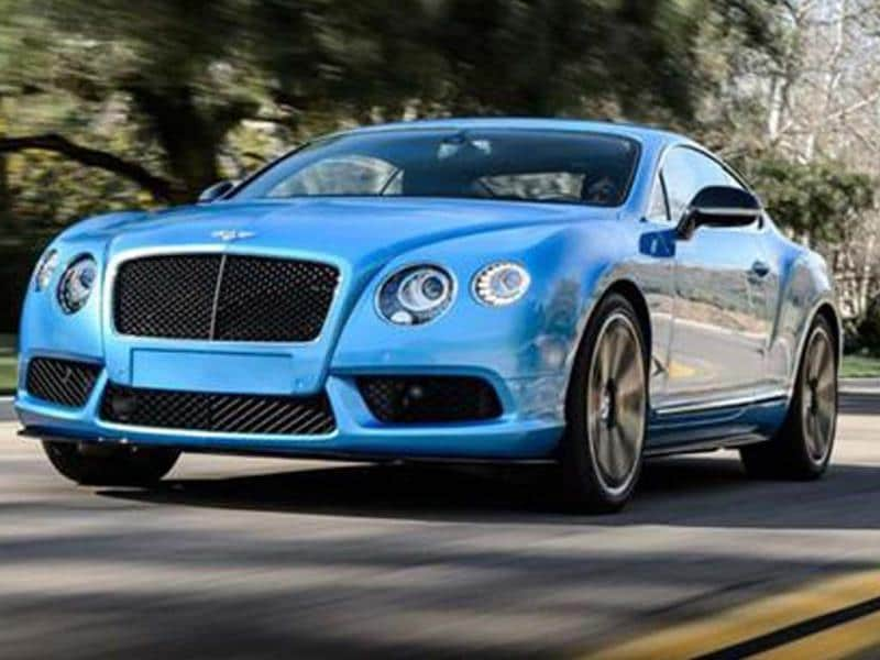 Bentley Continental V8 S review, test drive