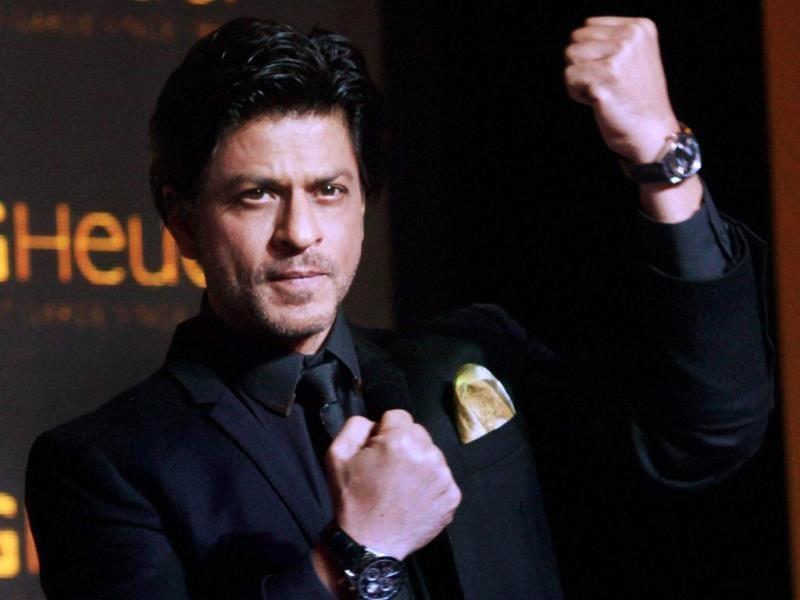 Shah Rukh Khan has been the face of Tag Heuer for the past 11 years.(PTI Photo)