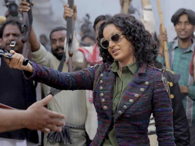 Kangana Ranaut will be seen as a gutsy dacoit in Revolver Rani. Running alongside is a love story between Kangana and her toy boy hero.