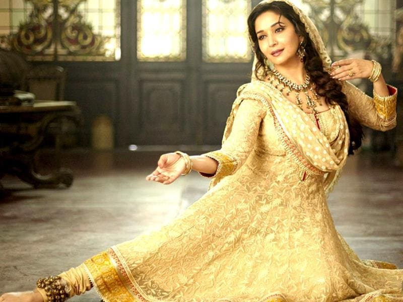 Madhuri Dixit plays an elegant begum in Dedh Ishqiya, adding strength and depth to the character because 'women as characters are not just an eye candy'.