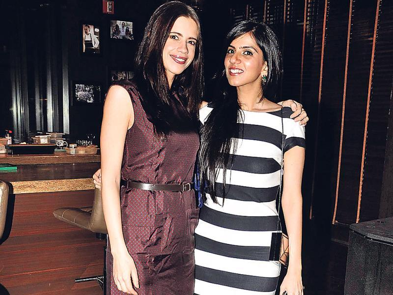 Kalki Koechlin along with Nishka Lulla.