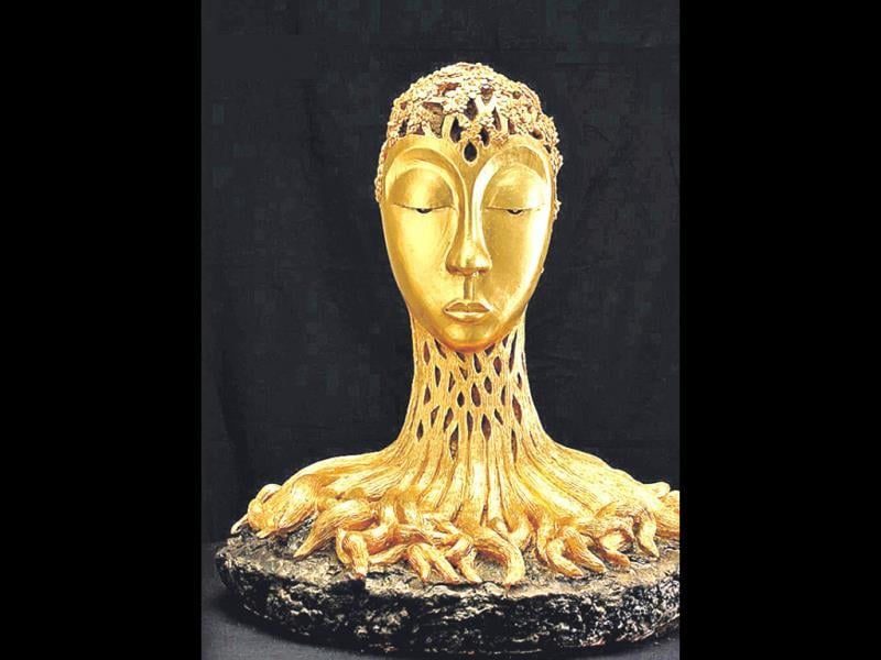 Pattrini, a bronze sculpture by Sonia Sareen, will be shown in a ­five-day exhibition titled Romanticists 2 at India Habitat Centre, Delhi, that will exhibit works of 13 renowned artists.