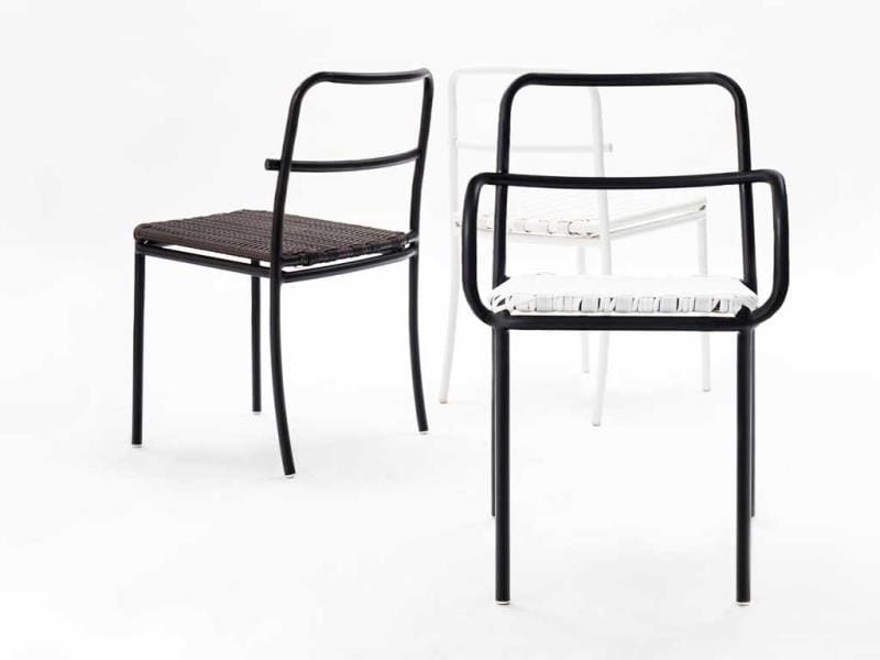Crosson Dining Chair by Sittichai Ngamhongtong | Sittichai Ngamhongtong: Thai graphic, industrial and product designer Ngamhongtong is one of the four members of the +Sense design studio. He is known for his contemporary forms and bold furniture statements with witty details. (AFP)
