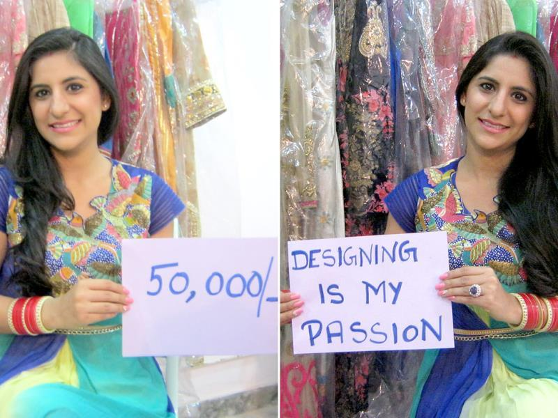 At 24, Richa Sachar, a promising fashion designer, is all set to take her two-year old online portal 'The French Darjee' to the next level. At present, she is able to generate monthly revenue of Rs 50,000.