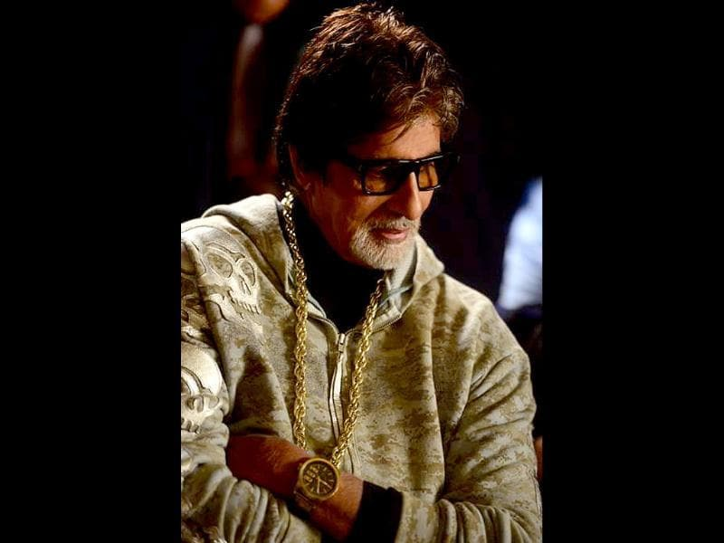 Meet Big B, the rap star.