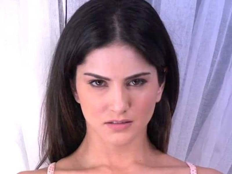 The sexy ghost: In her upcoming film Ragini MMS 2, Sunny Leone turns into a ghost for a sequence in the film directed by Bhushan Patel.