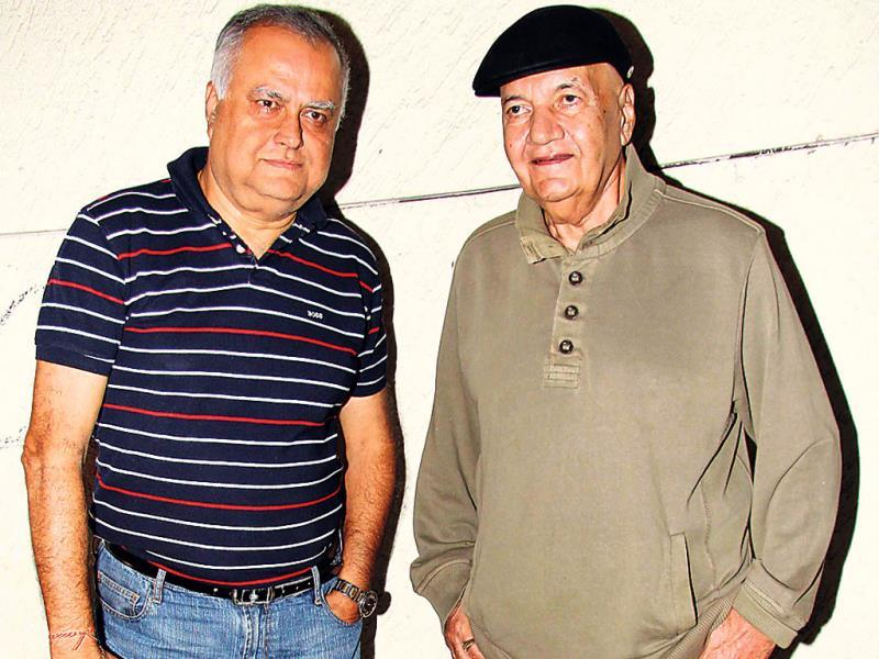 Prem Chopra at a movie screening.