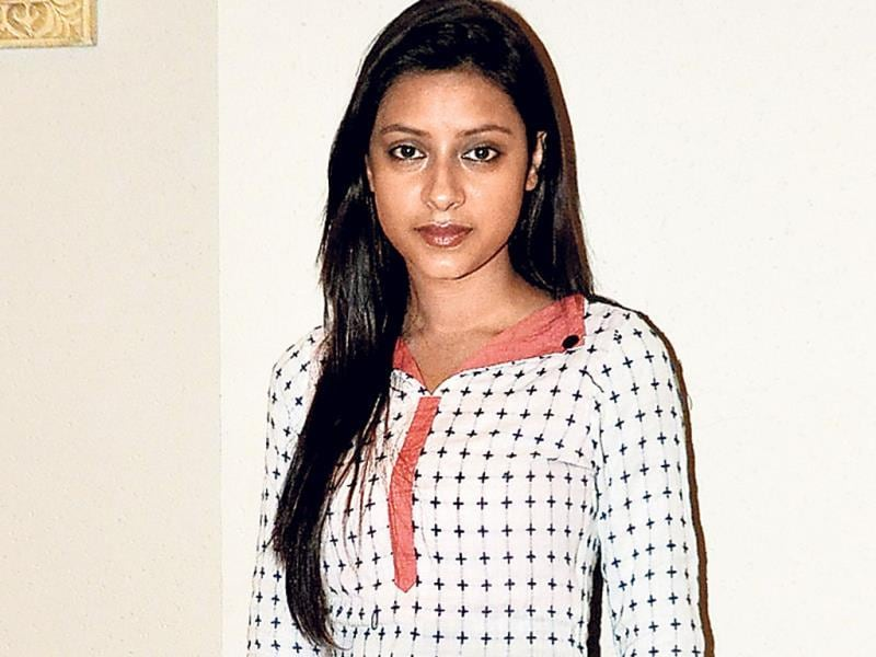 Pratyusha Banerjee was spotted in an Indian outfit at an event in Juhu