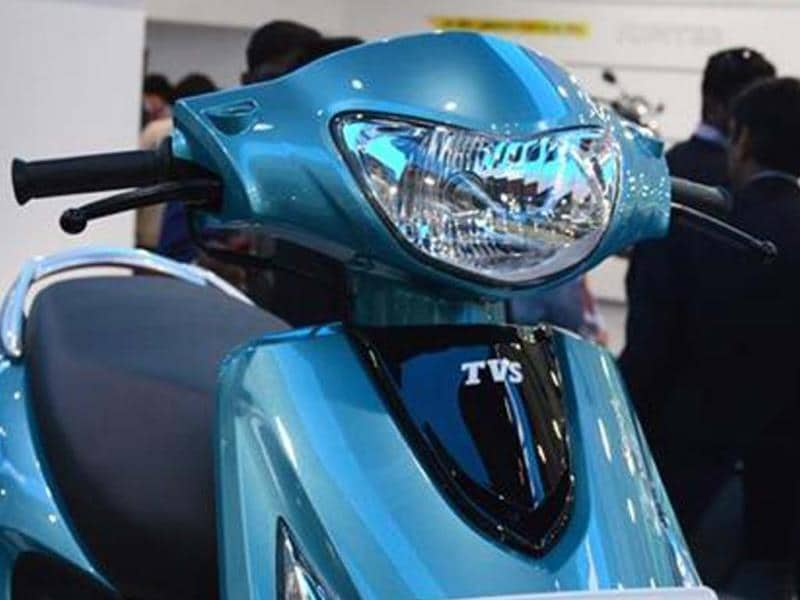 TVS Scooty Zest first look, review