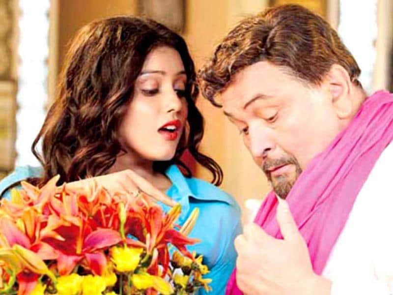 Rishi Kapoor with Mishti in a scene from Kaanchi.