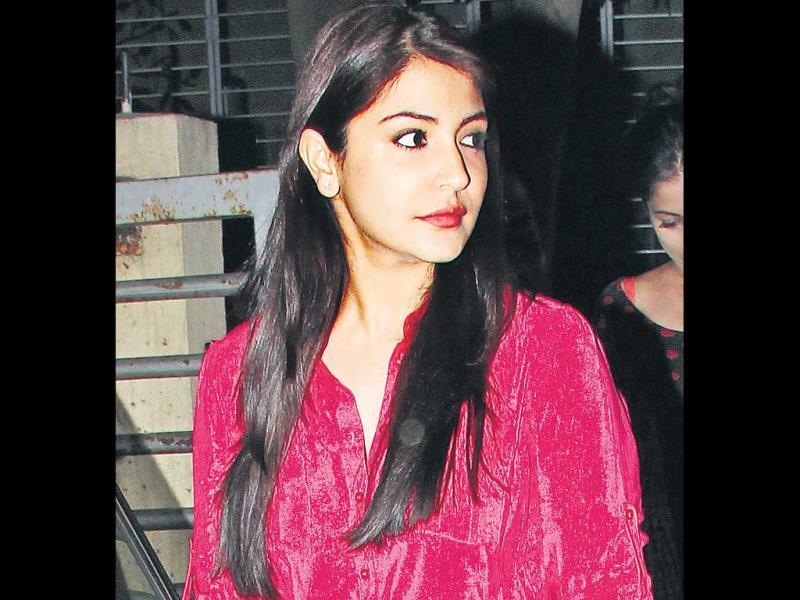 Anushka Sharma spotted in Mumbai.
