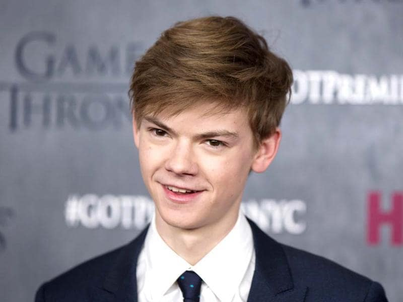 Thomas Brodie-Sangster arrives for the premiere of the fourth season of HBO series Game of Thrones in New York.