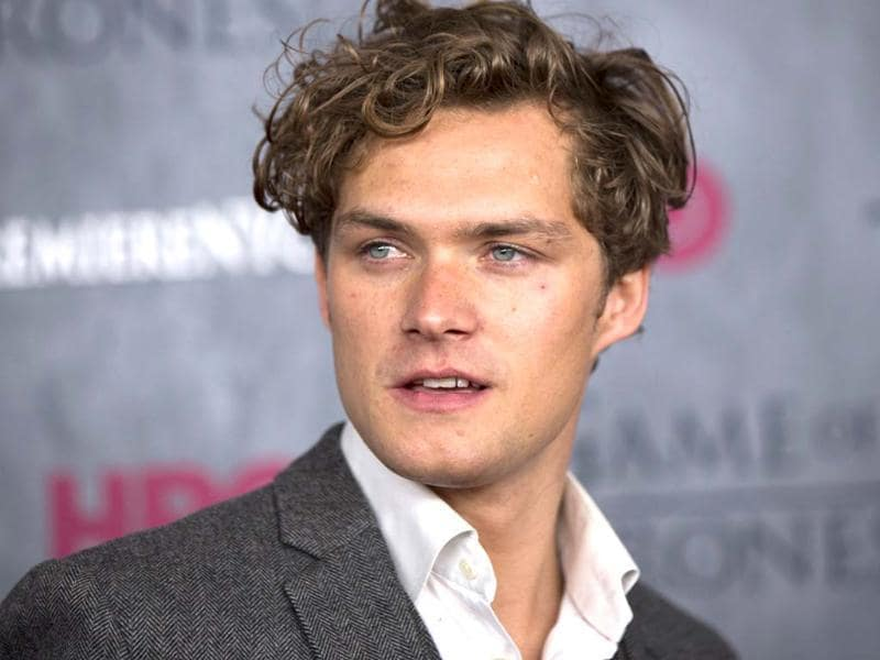Finn Jones at the premiere of Game of Thrones.