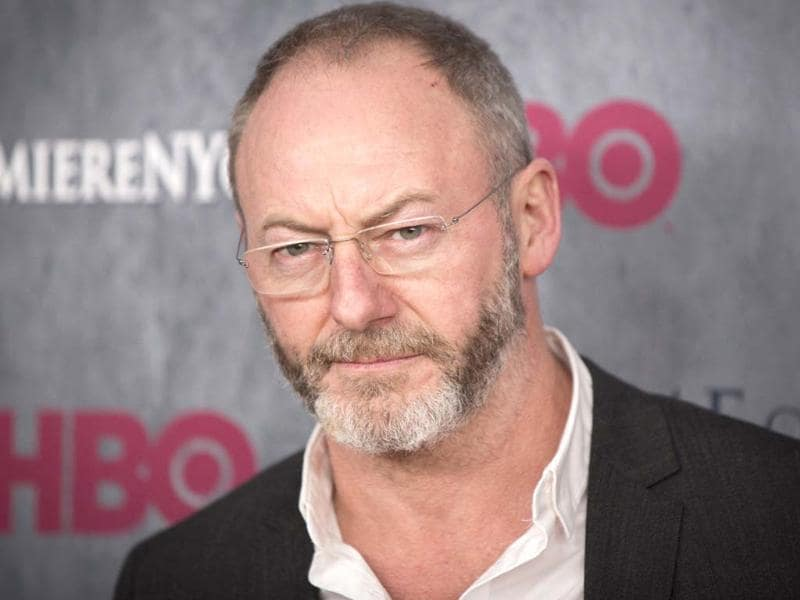 Liam Cunningham arrives for the premiere of the fourth season of HBO series Game of Thrones in New York.