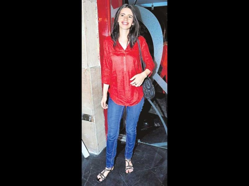 Kalki Koechlin dazzles in red.