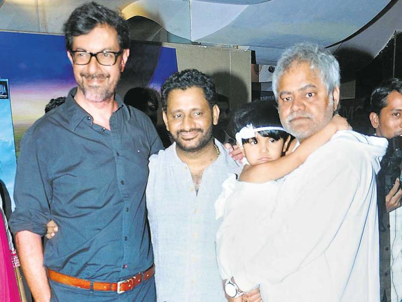 Rajat Kapoor hosted the premiere of his film Ankhon Dekhi on Thursday. The do had a relatively good turnout, considering the movie doesn't fall into the category of mainstream cinema.