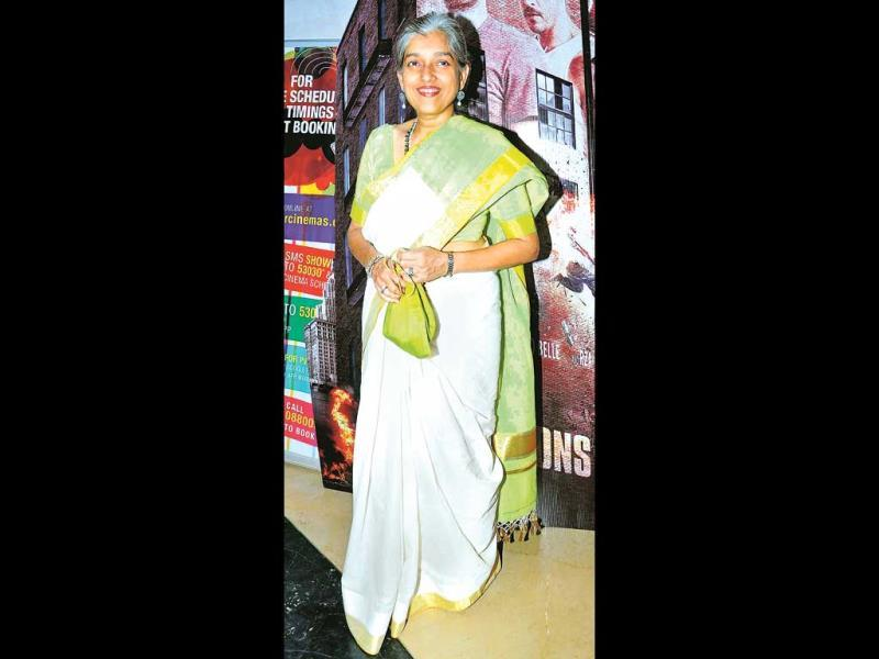 Ratna Pathak Shah also marked her attendance.