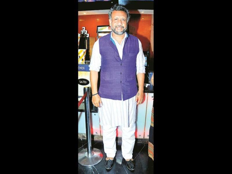 Gulaab Gang filmmaker Anubhav Sinha was also present at the do.
