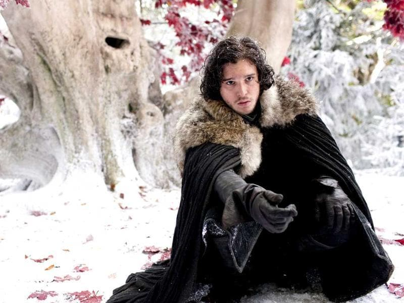 "Girls: Knock back a martini when... You think,""Jon Snow is nice, no? But these Northerners NEVER bathe!"" Or you wonder which character is going to die next."