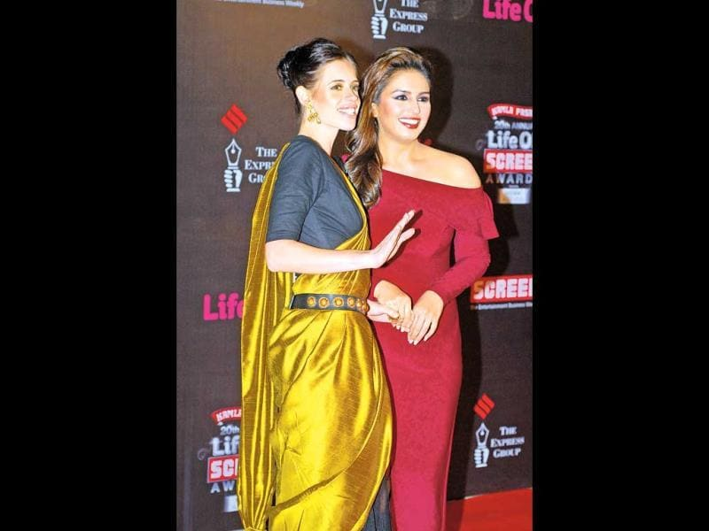 Huma Qureshi and Kalki Koechlin: The duo met through Kalki's husband, film-maker Anurag Kashyap, when he was working with Huma on Gangs Of Wasseypur (2012). Their friendship has weathered a rough storm as well — last year, rumours were rife that Huma was responsible for the rift in the Kashyaps' marriage. Huma has openly said that she is friends with both Anurag and Kalki, and Kalki even tweeted in support of the actor, saying,