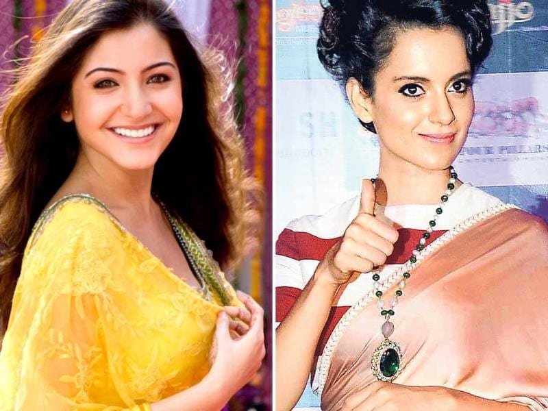 Kangana Ranaut and Anushka Sharma: When she appeared on Karan Johar's chat show, Anushka praised Kangana's performance in her recent hit. She even said that she texted Kangana about it. When asked about the kudos she was getting, Kangana says,