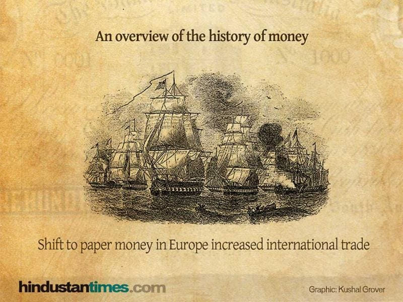 An overview of the history of money.