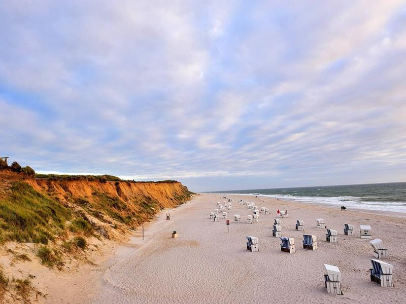 Sylt, Germany: Visiting Germany and want to get your surf on? Sylt is the place to go, with 40 km of sandy beaches that also offers other water sport activities like sailing, swimming and kite surfing. (AFP)