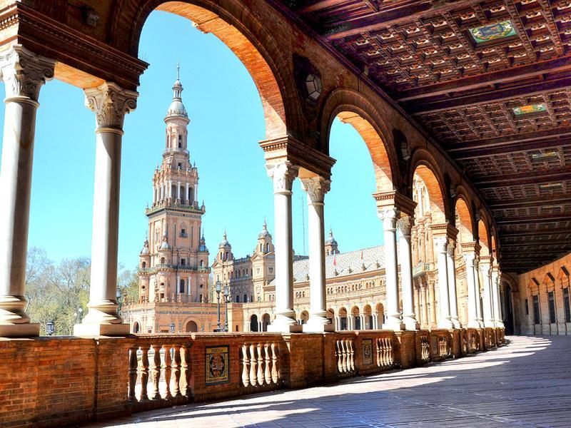 Seville, Spain: As the birthplace of Flamenco dancing, Seville is the perfect Spanish destination for lovers of music and dance. (AFP)
