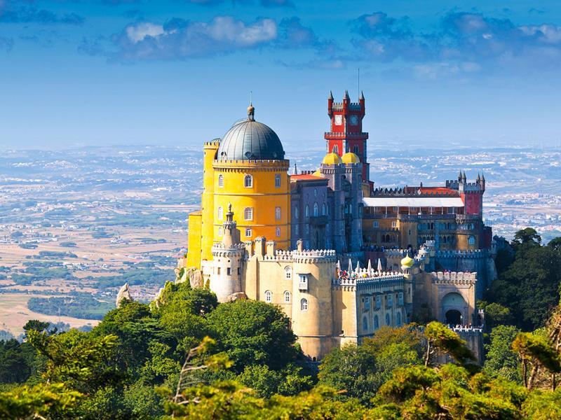 Sintra, Portugal: Along with lush green forests and horse-drawn carriage rides up the Portuguese mountains, the major attraction for Sintra includes the Vila Palace, which was used as a summer resort for many kings throughout the history of Portugal from the late 14 century. (AFP)