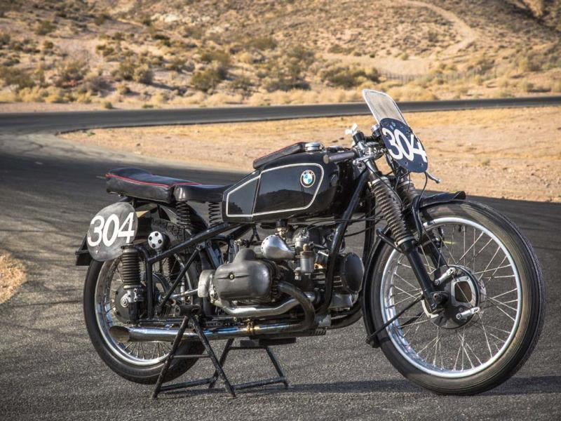 1939 BMW RS 255 Kompressor : One guaranteed way to make a bike desirable to collectors is racing history. This supercharged BMW, ridden by George Meier, won the 1939 Senior TT. The victory was the culmination of more than a decade of development work by BMW and marked the first time in the race's 32-year history that a non-British rider had taken the chequered flag. So a legendary bike and one of the first ever to use forced induction via a supercharger or Kompressor as it's called by German car and bike builders. At $480,000 (€348,887), it is currently the second most expensive bike ever sold at public auction. Photo:AFP