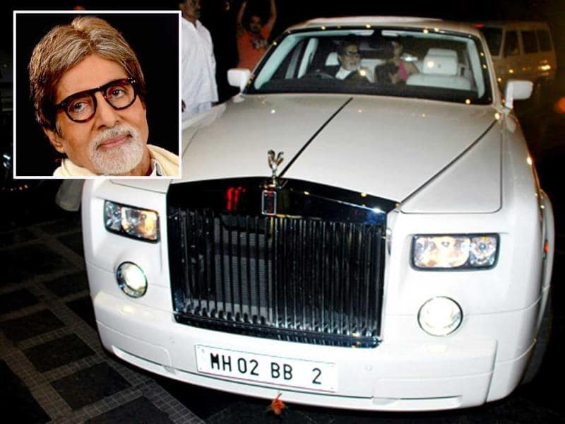 Lucky Number: 2 Amitabh Bachchan, was born on October 11. The sum of his date makes it 2 and Big B reportedly prefers the number two for all his cars. However, he's one of the few actors in Bollywood whose car number coincides with his birth-date sum.