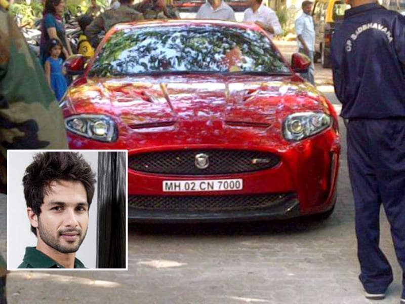 Lucky Number: 7Shahid Kapoor, too, believes that his birth date holds some auspicious value and hence, all of his cars and motorbikes have number 7 (a sum of his birth date, 25). The R.. Rajkumar actor's SUV has the number 700 and his newly-acquired car has the number 7000. His motorbike, too, has number 700. We wonder why the number of 'zeroes' are different for his various vehicles though.