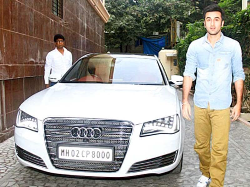 Lucky Number: 8Like his father's love for number 8, actor Ranbir Kapoor, too, has something going on with this number. Rishi Kapoor has number 1313 on his cars, which add up to number 8. And in a similar fashion, Ranbir's cars have number 8 on their licence plates, be it his sedan or his white SUV.
