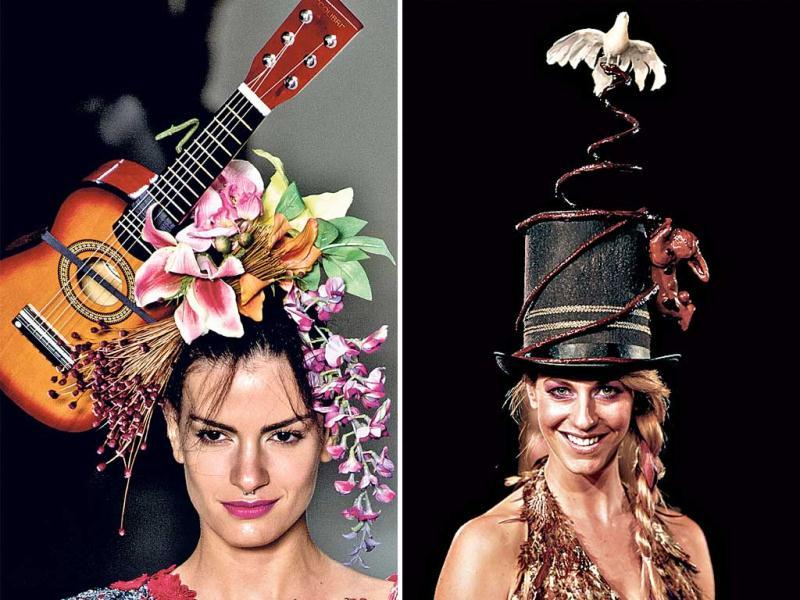 From edible hats to exaggerated floral tops, get some funky inspiration.