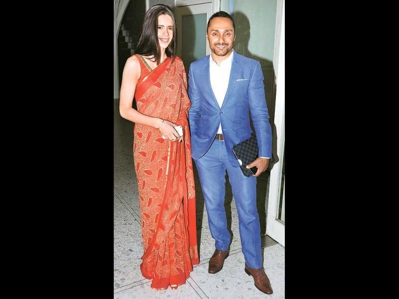 Kalki Koechlin came to support an event hosted by Rahul Bose's NGO that helps victims of child abuse (Photo: Prodip Guha)