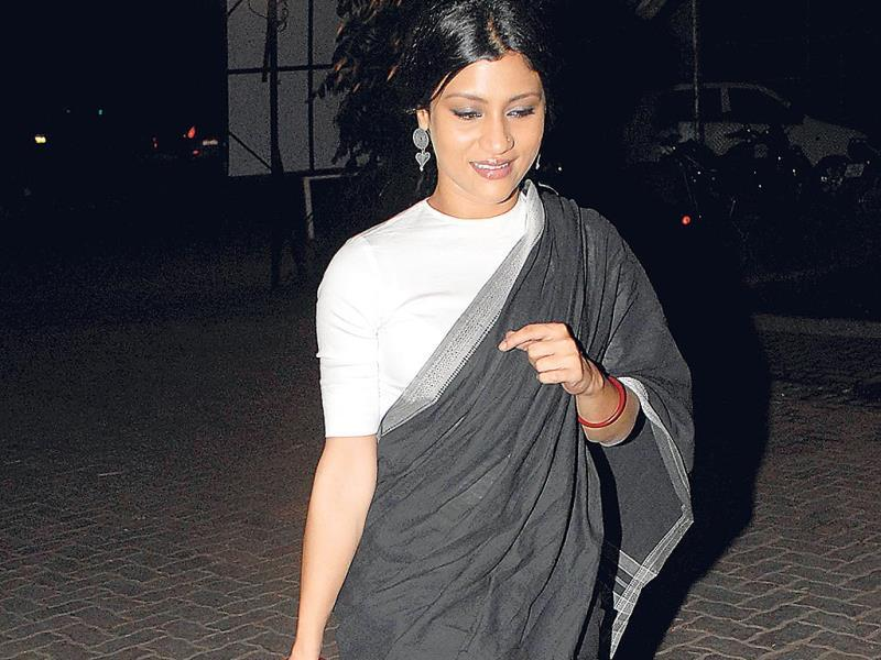 Konkona Sen Sharma was spotted at an event in Mumbai.