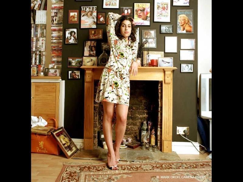 The Jewish Museum's Amy Winehouse exhibition, co-curated by brother Alex of The Amy Winehouse Foundation, runs through September 23, covering the anniversary of the singer's death on July 23, 2011.Amy Winehouse at home, 2003. (AFP)