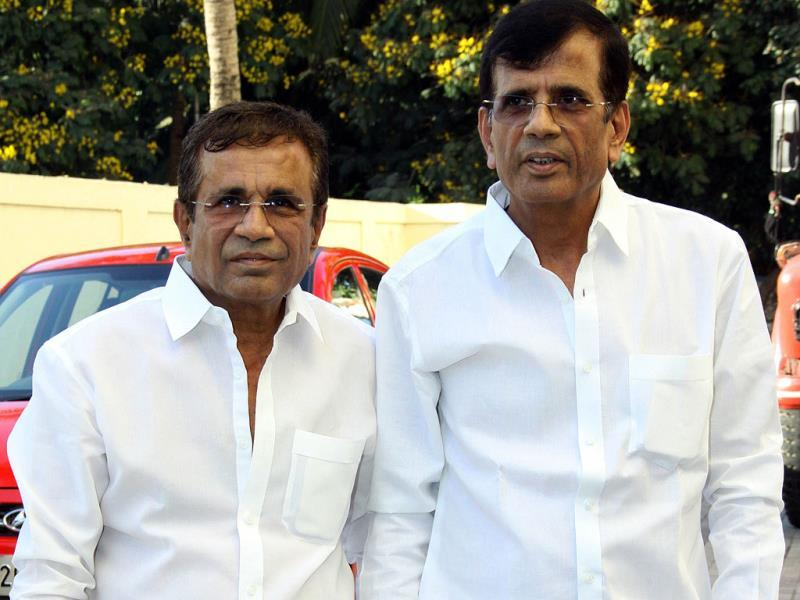 Film director Abbas-Mastan attend the special screening of Bombay to Goa. (AFP)