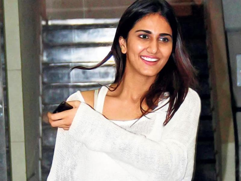 Vaani Kapoor spotted at a housewarming party.
