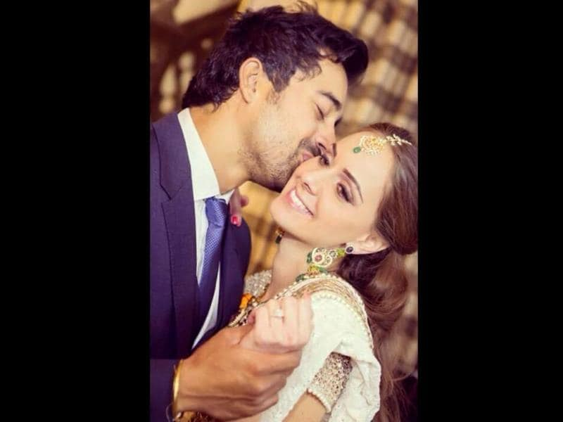 Ranvijay Singh and his wife Priyanka Vohra.