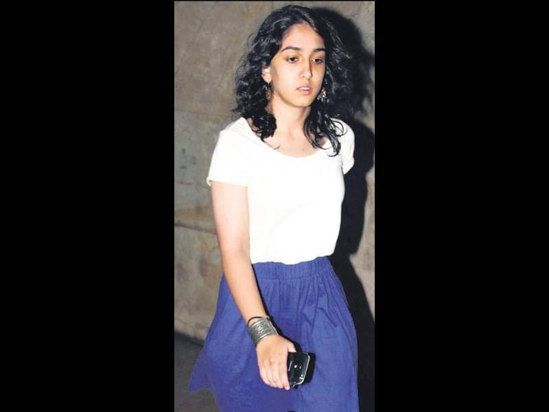 Aamir Khan's daughter Ira was spotted at a theatre in Mumbai. (Photo: Prodip Guha)