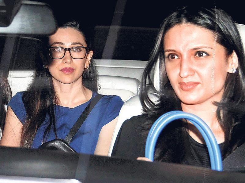 Karisma Kapoor and Anu Dewan spotted in Mumbai.