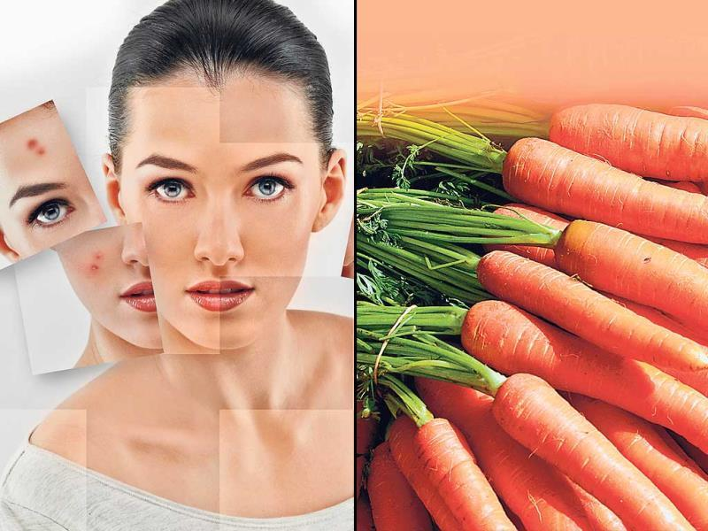 Do you envy your friend or colleague with flawless skin? Can't get rid of acne despite regular beauty and skin treatments? Here's how to make a difference by indulging in these healthy bites that prevent acne.Carrot: it has Vitamin A and beta-carotene, which keeps acne at bay. If you make carrot a part of your daily diet, it will help to reduce acne faster. (HT PHOTO)