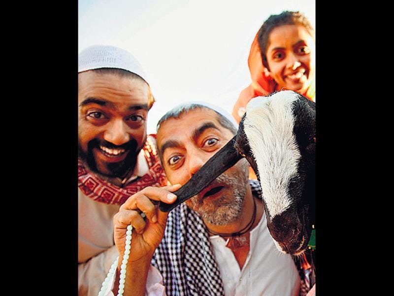 Ye Hai Bakrapur is a social satire, set against the backdrop of rural India. The film's story revolves around the family of the Qureshis and their pet goat.